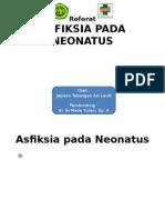 Asfiksia Pada Neonatus