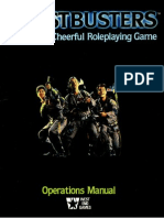 Ghostbusters Operations Manual