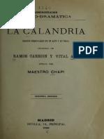 La Calandria Jug Ue 473 Chap