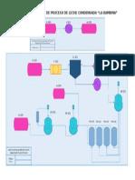 Diagrama de Flujo de Proceso de Leche Condensada