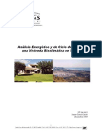 Vivienda Bioclimática en Sitges