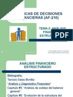 Análisis financiero estructurado
