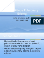 High Altitude Pulmonary Edema