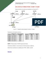 Cálculo de Los Factores de Distribución
