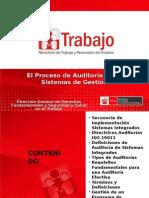 SST - El Proceso de Auditoría de Los Sistemas de Gestión