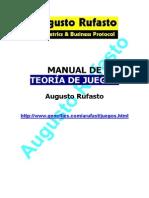 RUFASTO-TEORIA DE JUEGOS.