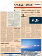 Classic Films Shed Light on Commodities Boom - FT