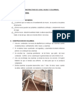 proceso constructivo vigas y columnas