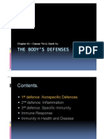The Body's Defence