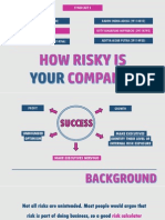 How Risky is Your Company