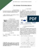 Modelado de Sistemas ElectromecánicosMEJORADO