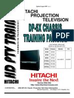 Pantallas HITACHI DP 6X Training Package