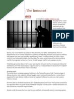 Imprisoning the Innocent