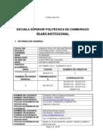 SILABO DE AUDITORIA DE CALIDAD