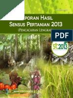 Laporan Sensus Pertanian 2013