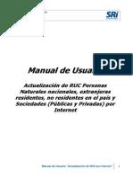 Manual de Usuario Actualización RUC Internet 16-06-2015