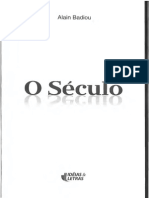 Badiou - O Seculo