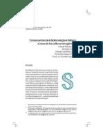 Consecuencias de La Biotecnologia en Mexico