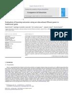 Computers _ Education Volume 64 issue 2013 [doi 10.1016_j.compedu.2012.12.001] Furió, David; González-Gancedo, Santiago; Juan, M.-Carmen; -- Evaluation of learning outcomes using an educational iPhone game vs