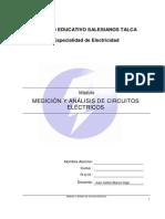 e1 Medicion y Analisis de Sistemas Electricos