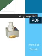 Manual de Operacion-kirby Lester Kl-x