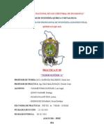 Informe de Quimica II Practica 9