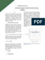 Evaporación - Informe