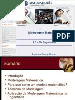 Modelagem Matemática e Sistemas Dinâmicos Unidade 1.5- Modelagem Matemática Na Engenharia