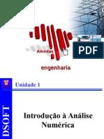 Cálculo Numérico Unidade 1 - Introdução à Análise Numérica
