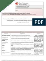 Plano de Ensino de Biologia para o 3º EM do CFNSA