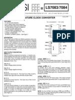 circuito Ls 7084 Datasheet