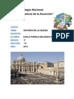 Historia de La Iglesia Carla Fiorela