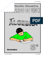Matrices Noviembre – Álgebra – 5to