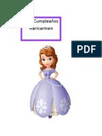 Torta de La Princesa Sofia