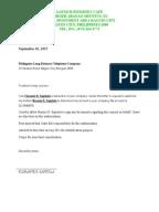 PLDT Reconnection Letter