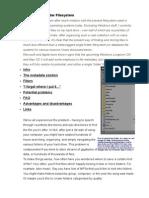 Towards a Single Folder Filesystem