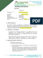 Memoria Descriptiva Inst. Electricas Pedro Aliaga