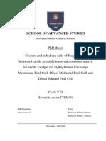 Cesium and Rubidium Salts of Keggin-type