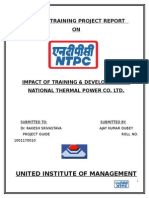 summer report on ntpc