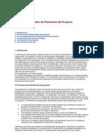 Modelo de Planeación Del Proyecto