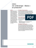 Food & Beverage – Basics – Beer Production