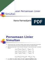 MetNum4 Penyelesaian Persamaan Linier Simultan Barurev