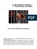 d. Penal (Teoria Do Crime)- Apostila II