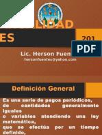 Anualidades 2015 Hf