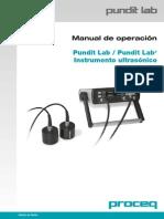 Manual de Operacion PunditLab -Proceq