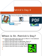 Learning English- St Patrick's Day the Facts