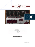 RP Predator Manual German