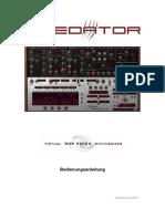 RP Predator Manual German
