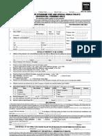 Bajaj Home Insurance Form India
