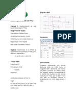 Práctica 1 - Diseño Digital - Uso del software Quartus II